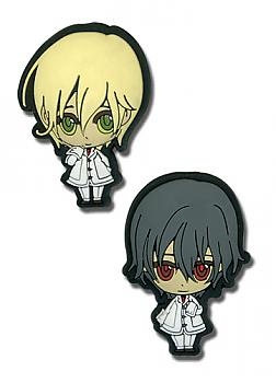 Vampire Knight Pins - SD Kaname and Takuma