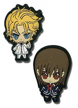 Vampire Knight Pins - Yuki and Hanabusa Aidou