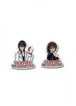Vampire Knight Pins - Yuki and Kaname