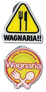 Wagnaria!! Pins - Logo Metal (Set of 2)