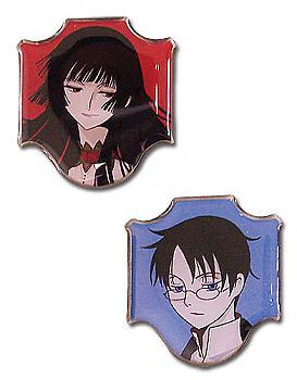 xxxHOLiC Pins - Yuko and Watanuki (Set of 2)