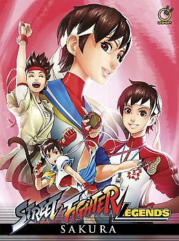 Street Fighter Legends: Sakura Manga (Hard Cover)
