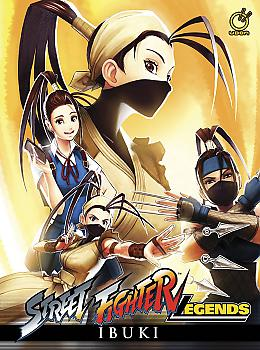 Street Fighter Legends: Ibuki Manga (Hard Cover)