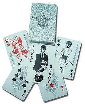 Black Butler Playing Cards