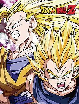 Dragon Ball Z Throw Blanket - Super Saiyan Goku & Vegeta Sublimation
