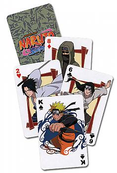 Naruto Shippuden Playing Cards