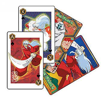 Inu Yasha Playing Cards