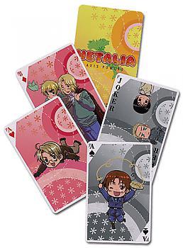 Hetalia Playing Cards