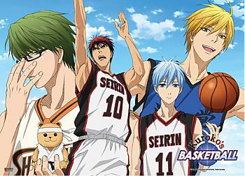 Kuroko's Basketball Wall Scroll - Group Sky [LONG]