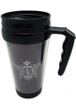 Black Butler Tumbler Mug with Handle - Phantomhive