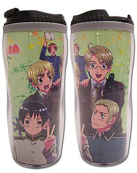 Hetalia: Axis Powers Tumbler Mug - Group