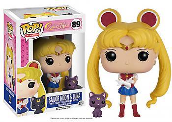 Sailor Moon POP! Vinyl Figure - Sailor Moon w/ Luna