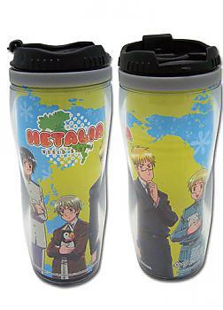 Hetalia: Axis Powers Tumbler Mug - Pet Buddies