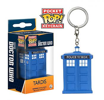 Doctor Who Pocket POP! Key Chain - Tardis