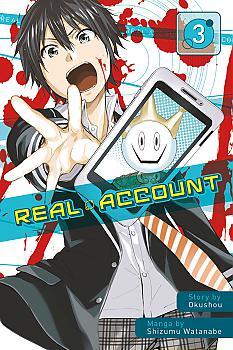 Real Account Manga Vol.   3