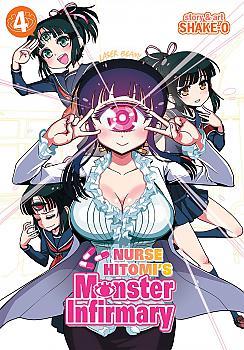 Nurse Hitomi's Monster Infirmary Manga Vol.   4