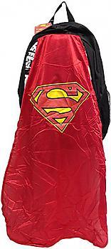Superman Backpack - Logo Line Art w/ Cape