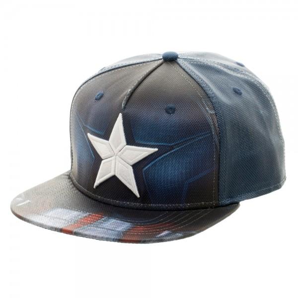 ... Sublimated Snapback (Civil War). Captain America Cap - tain America  Ballistic ... 72c05738fcb0