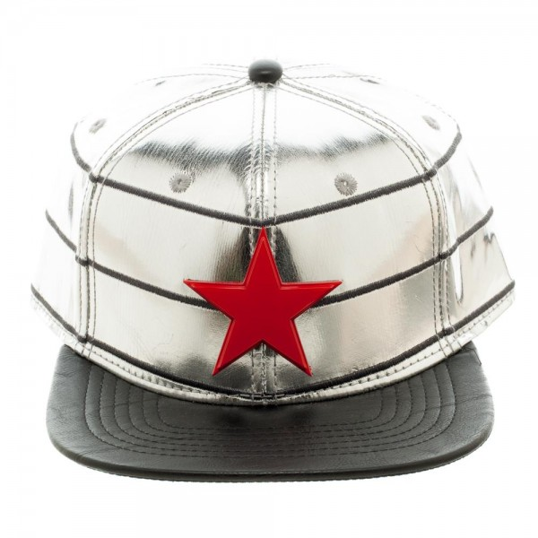 Captain America Cap - Winter Soldier PU Suit Up Snapback  Archonia US 2bca769a664b