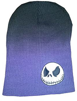 Nightmare Before Christmas Beanie - Jack Purple Slouch