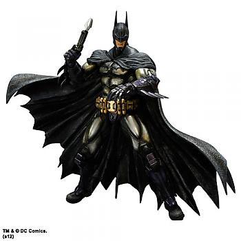 Arkham Asylum Batman Play Arts Kai Action Figure - Batman Armored