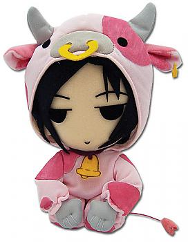 Black Butler Plush - Sebastian Cow Cosplay