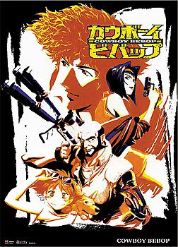 Cowboy Bebop Wall Scroll - Spike & Crew