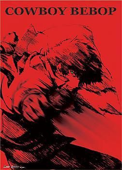 Cowboy Bebop Wall Scroll - Spike Red