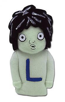 Death Note Plush Finger Puppet - L