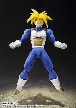 Dragon Ball Z S.H. Figuarts Action Figure - Super Saiyan Trunks (Saiyan Armor)