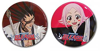 Bleach Button - Kenpachi and Yachiru Set