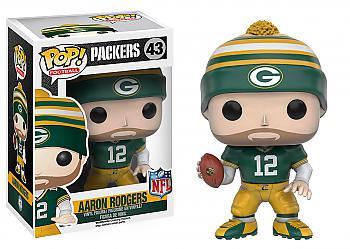 NFL Stars POP! Vinyl Figure - Aaron Rodgers (Green Bay Packers)