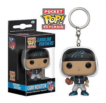 NFL Stars Pocket POP! Key Chain - Cam Newton