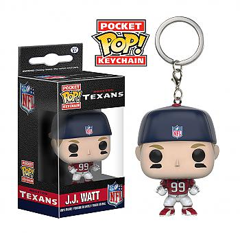 NFL Stars Pocket POP! Key Chain - J.J. Watt