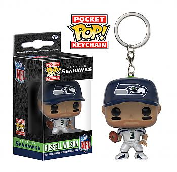 NFL Stars Pocket POP! Key Chain - Russell Wilson