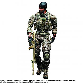 Medal of Honor Play Arts Kai Action Figure - Warfighter (Preacher)