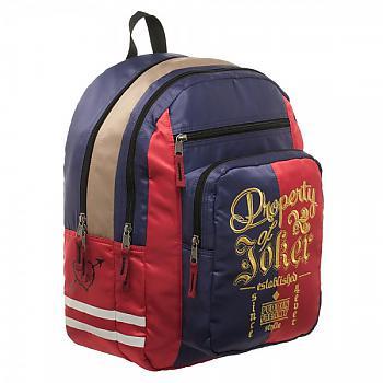 Suicide Squad Backpack - Harley Quinn Property of Joker