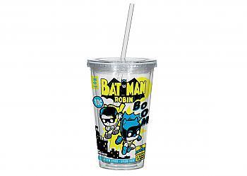Batman Mug - Batman '66 & Robin '66 Acrylic Cup