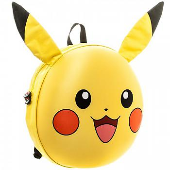 Pokemon Backpack - Pikachu Face Molded
