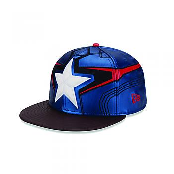 Avengers 2 Age of Ultron Cap - Captain America 5950 Fitted Size 7 1/8