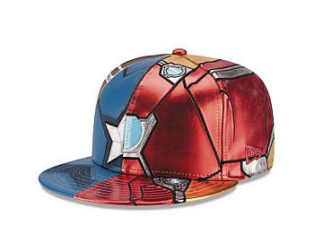 Captain America Civil War Cap - Split 7 1/4