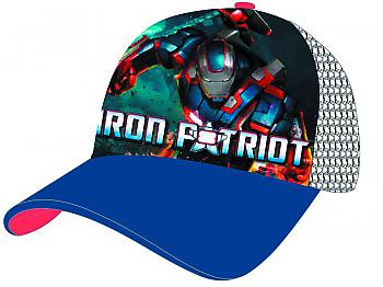 Iron Man 3 Cap - Iron Patriot Trucker Mesh