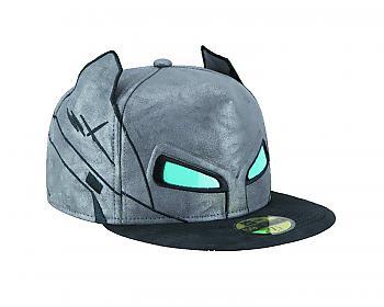 Batman V Superman Cap - Armor Batman Eyes Fitted SZ 7 1/2