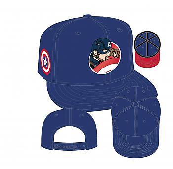 Captain America Civil War Cap - Team tain America Retroflect 950 Snapback