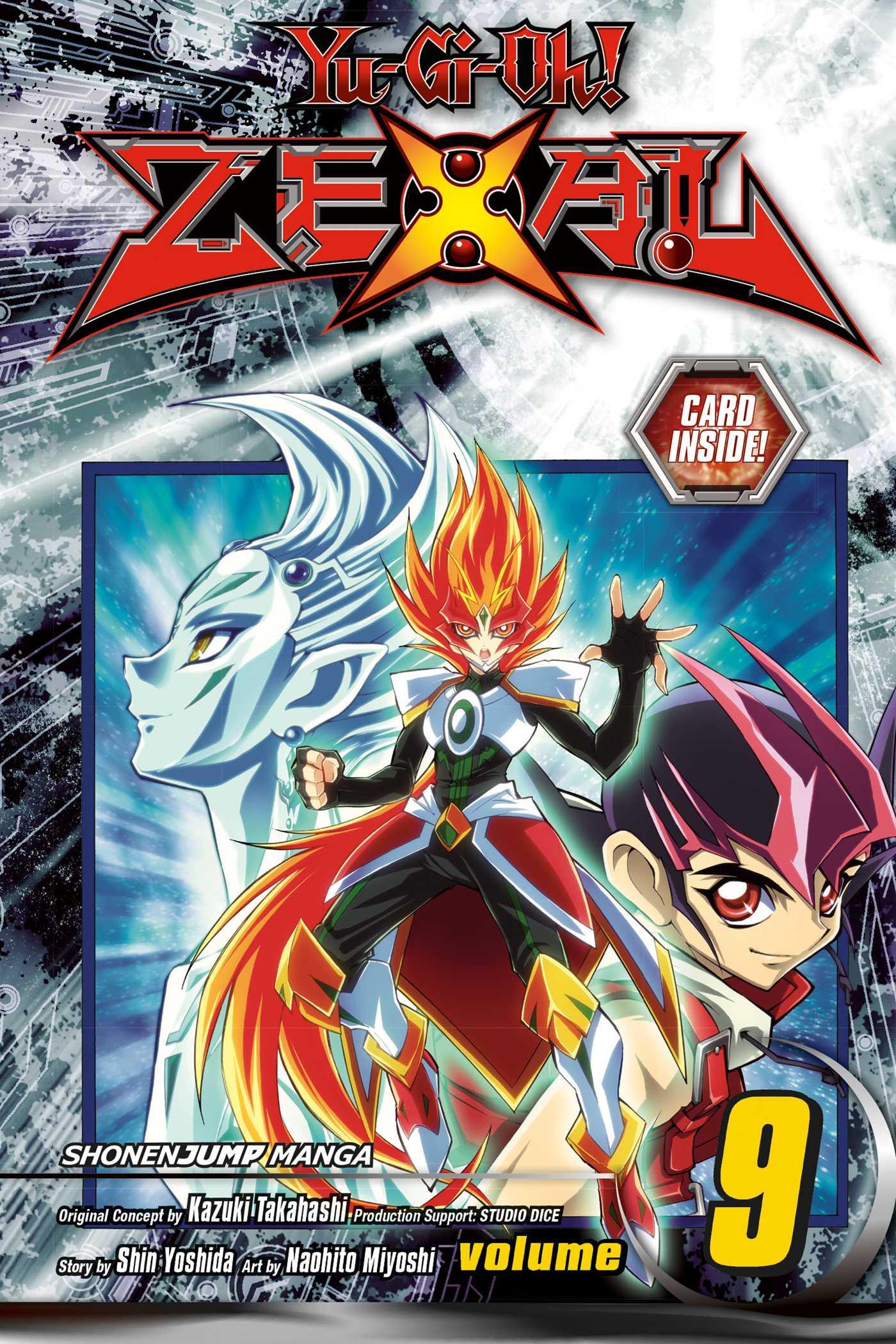 Yu-Gi-Oh! Zexal Manga Vol. 9 w/ TCG Card @Archonia_US