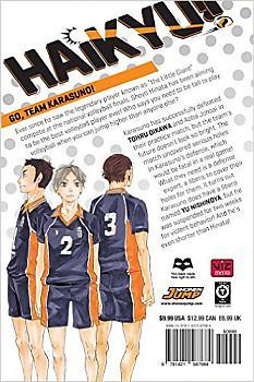 Haikyu!! Manga Vol.   3