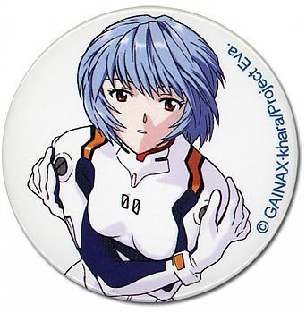 Evangelion Button - Rei Ayanami