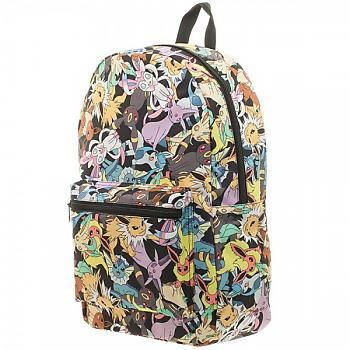 Pokemon Backpack - evee Evolution Toss Print Sublimated