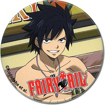 Fairy Tail Button - Gray