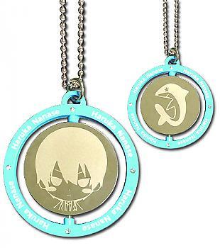 Free! Necklace - Haruka Blue Metal